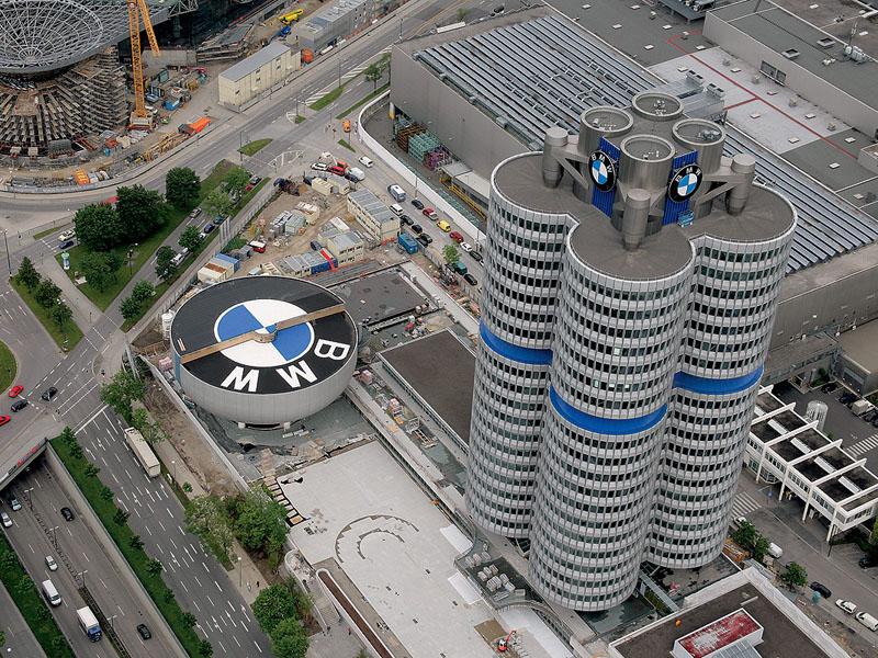 BMW stavba