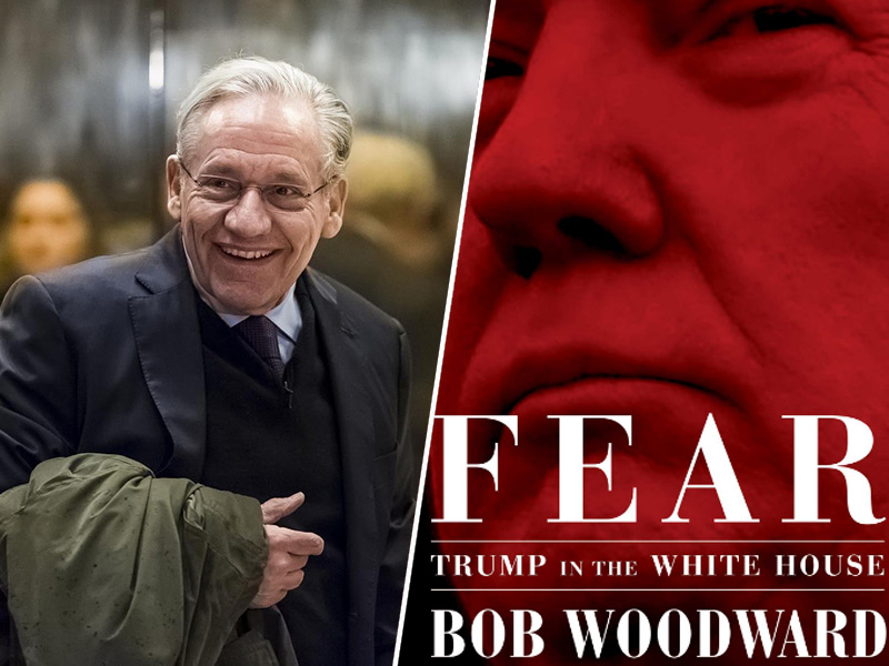Bob Woodward in knjiga Fear