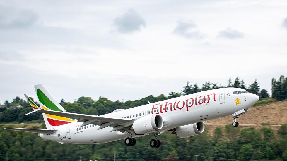 Boeing 373 Etihopian Airlines Vir:RT