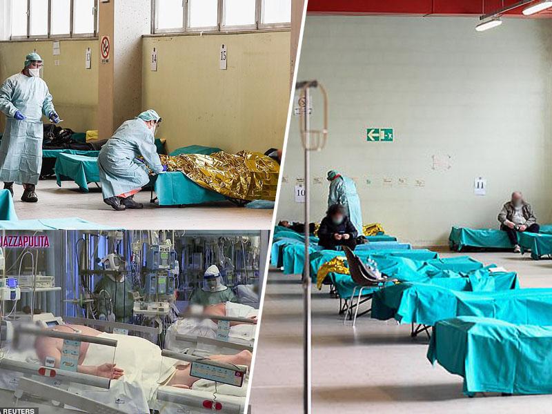 Bolnišnica v Italiji - intenzivna nega