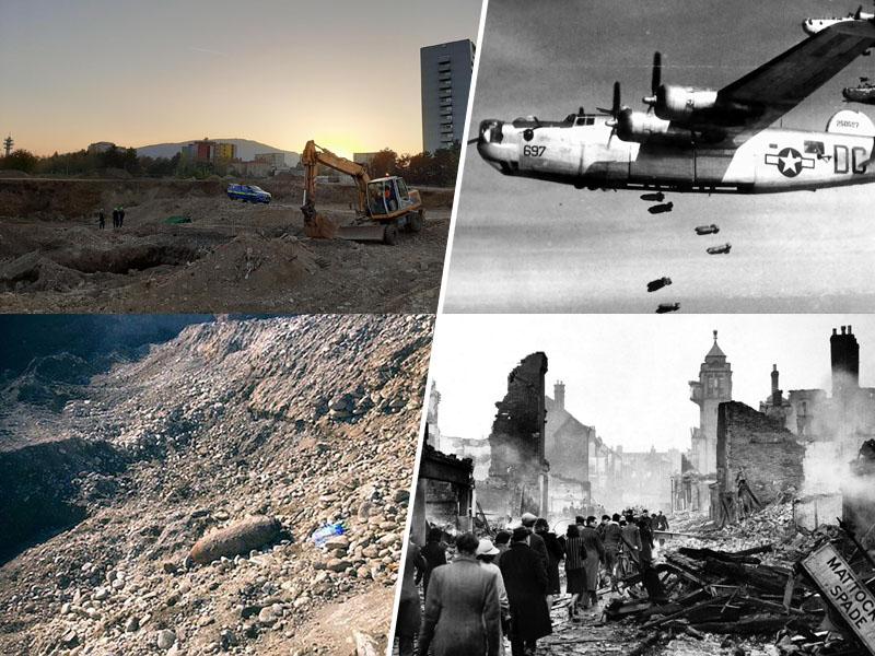 Bombardiranje in bomba v Mariboru