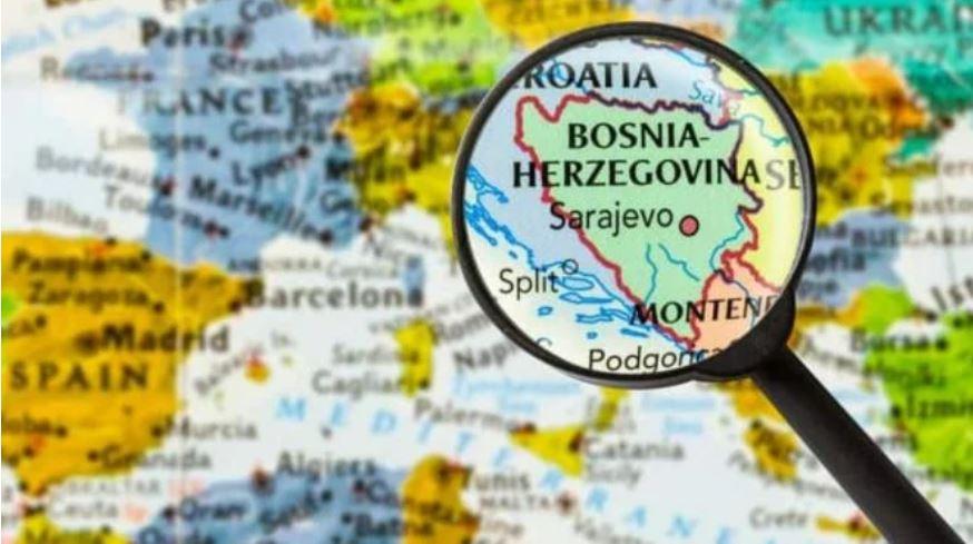 Bosna in Hercegovina Vir: Twitter
