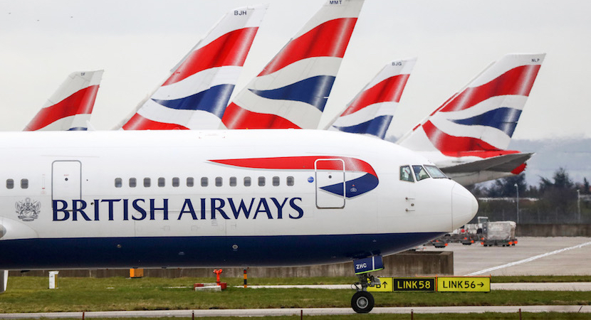 British Airways     Vir:Bloomberg