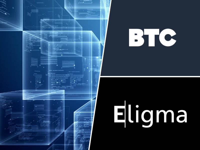 BTC / Eligma in Blockchain