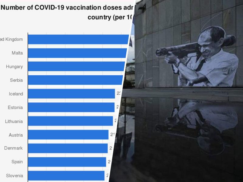 Ključna je hitrost cepljenja - v Sloveniji pa je polžja in tu jeza ne pomaga