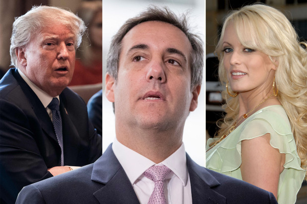 Cohen, Trump in Stormy