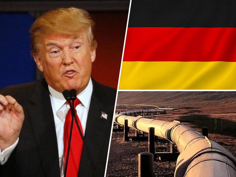 Donald Trump / Nemčija / Rusija / plinovod