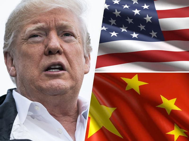 Donald Trump, ZDA in Kitajska