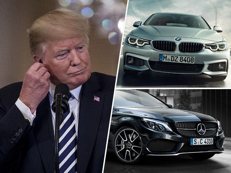 Donald Trump, avto davki