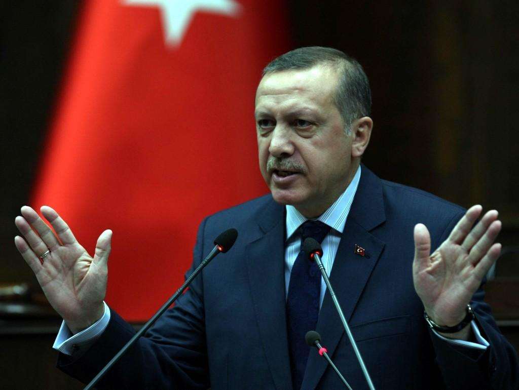 Turški predsednik Recep Tayyip Erdogan