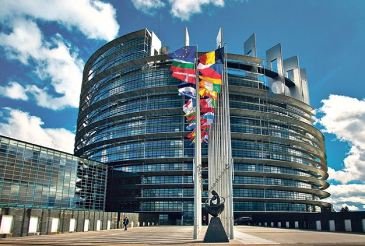 Evropska komisija Bruselj parlamnet