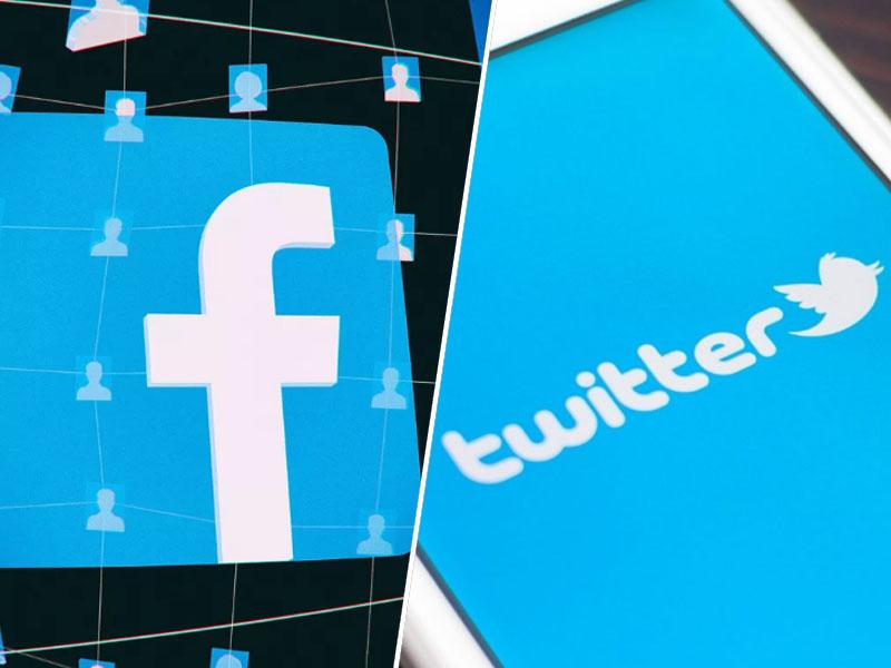 Facebook in Twitter