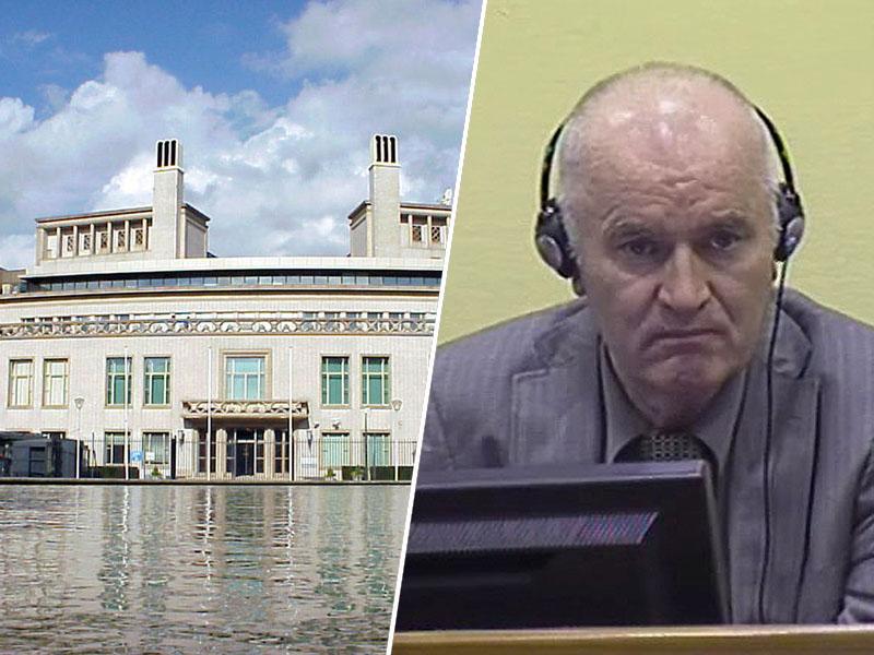 Sodišče v Haagu in Ratko Mladić