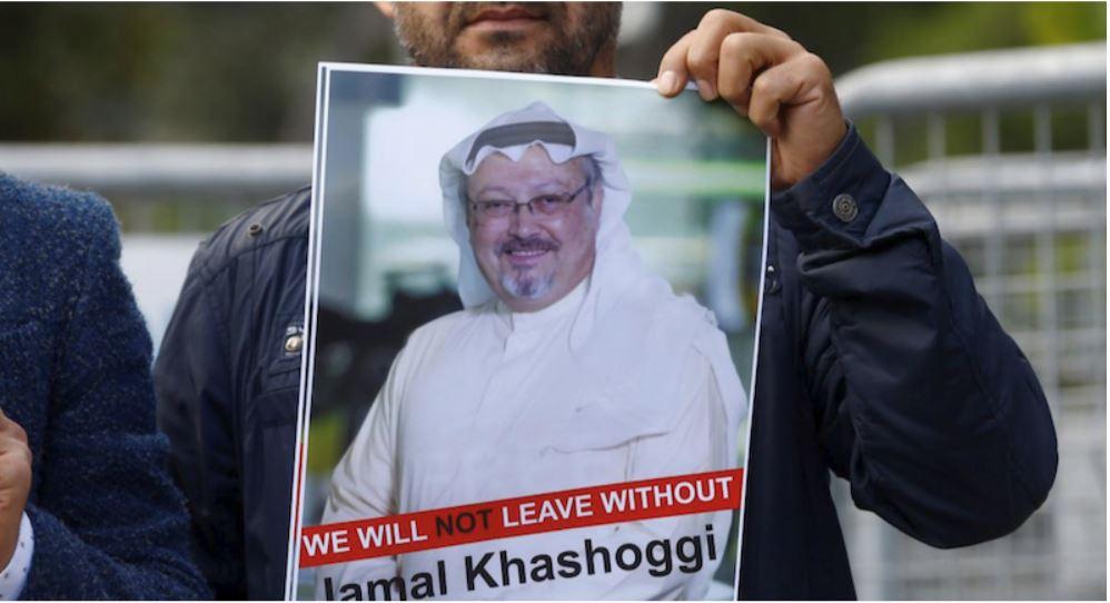 Džamal Hašodži - demonstracije