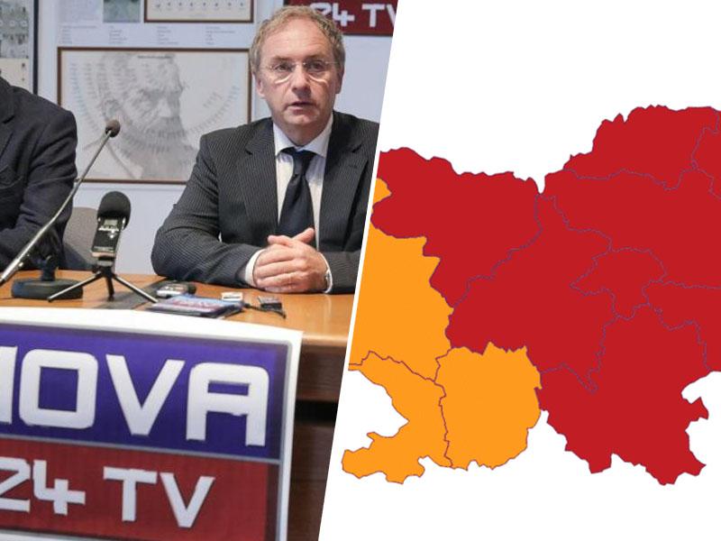 Aleš Hojs omejuje, tokrat z regijami