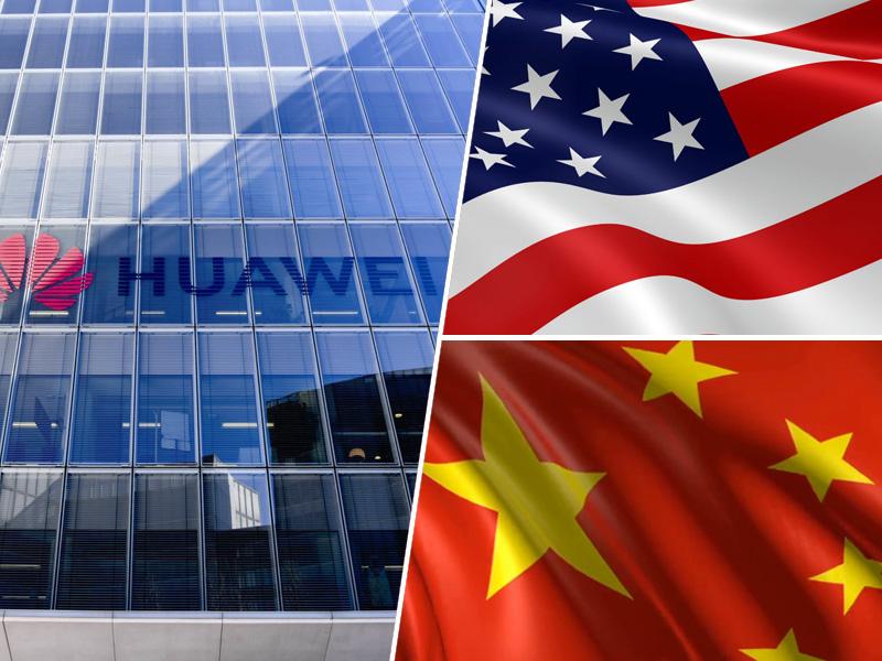 Huawei, ZDA, Kitajska