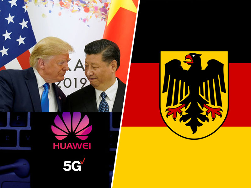 Huawei, Nemčija in ZDA