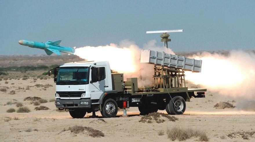 Izstrelitev iranske protiladijske manevrirne rakete Vir:Wikimedija