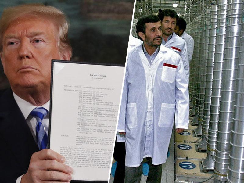 Trump in ponoven zagon iranskih centrifug