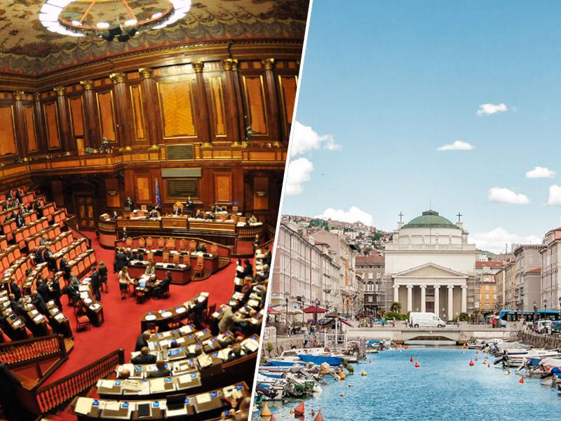 Italijanski senat, Trst