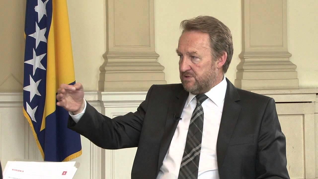 Bošnjaški član predsedstva Bosne in Hercegovine Bakir Izetbegović. Vir: You Tube