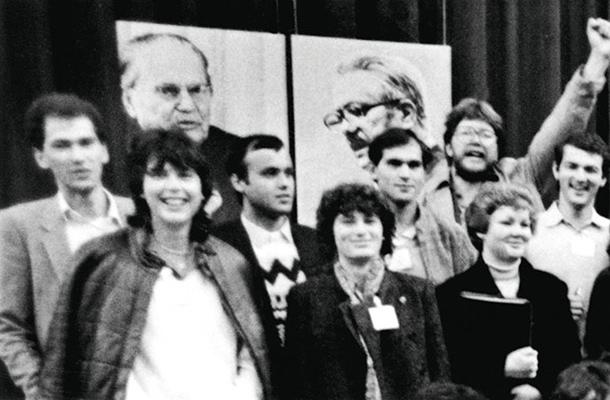 Janez Janša, Igor Bavčar, komunista