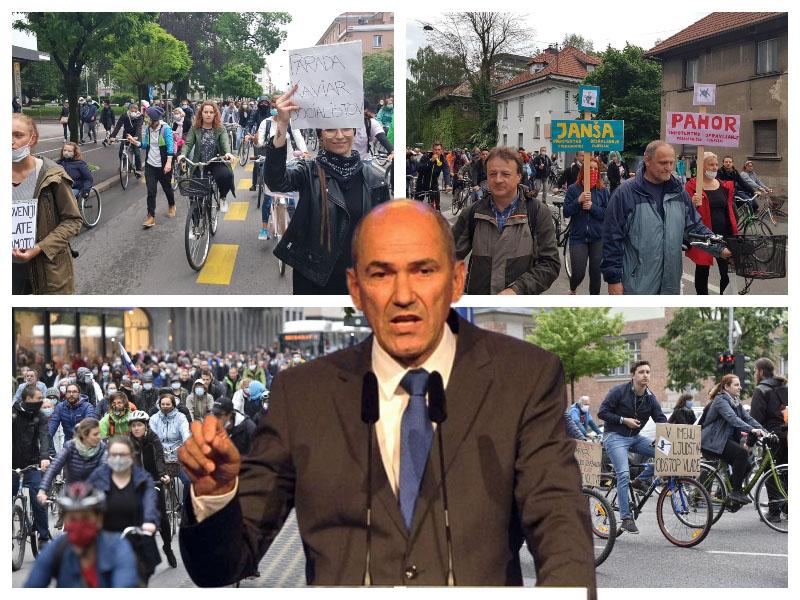 Janša in kolesarske varde