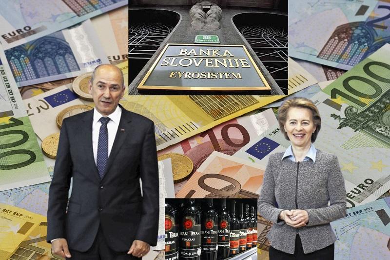 Janez Janša, Ursula von der Leyen ter kupčija teran-BS