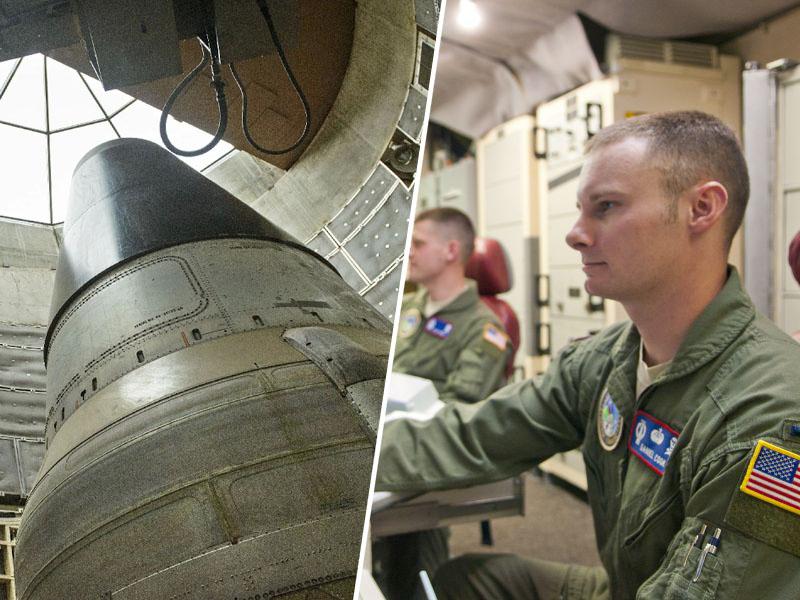 Vojaki/jedrske raketa Minuteman