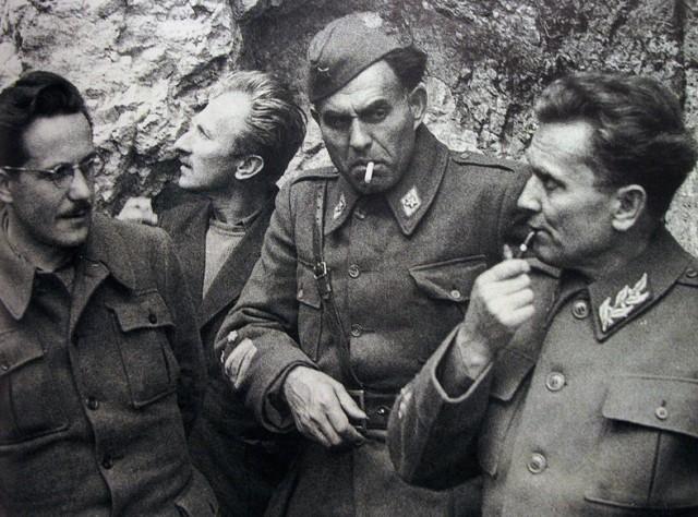 Edvard Kardelj in Josip Broz Tito