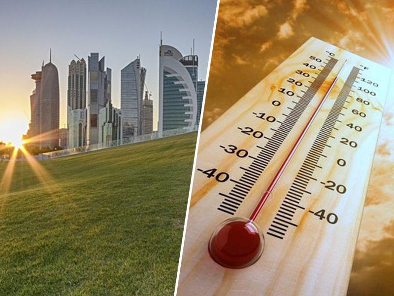 Katar - velika vročina
