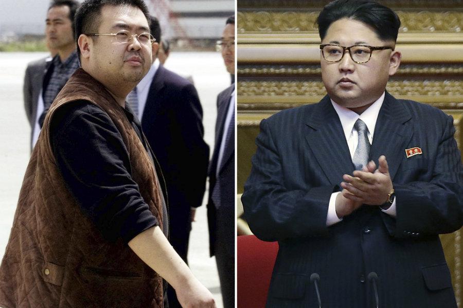 Kim Jong Nam in severnokorejski voditelj Kim Jong Un