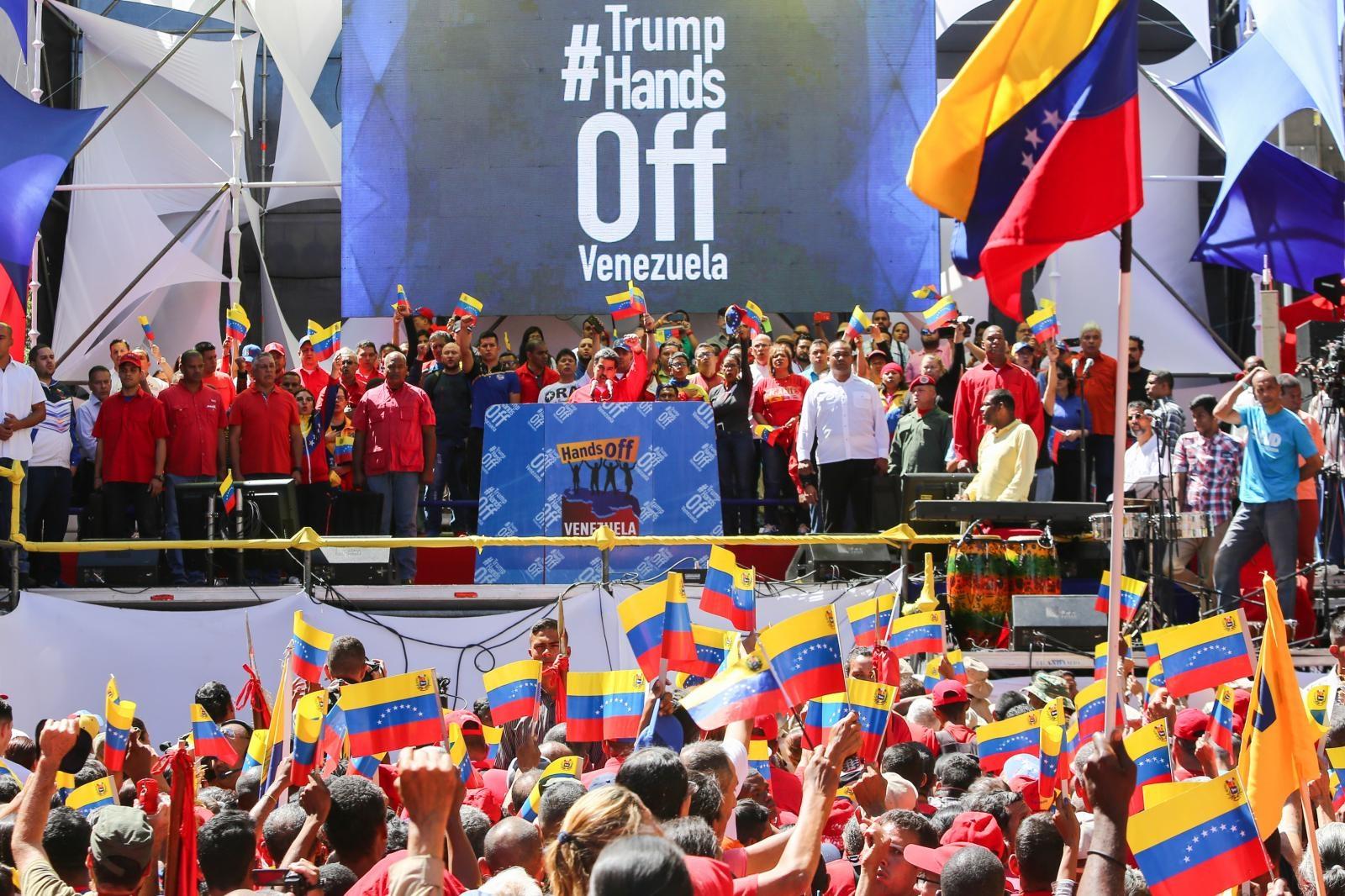 Roke proč od Venezuele - koncert v podporo Venezueli Vir:Pixsell