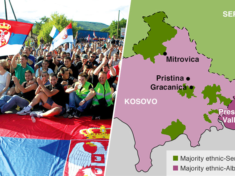 Kosovo in Srbija
