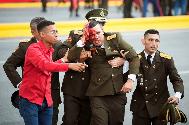 Ranjeni vojak - atentat na Madura