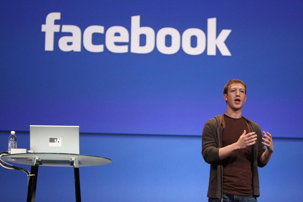 Direktor Facebooka Mark Zuckerberg, foto: flickr.com