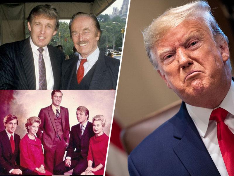Mary Trump in Donald Trump odpirata družinsko fronto