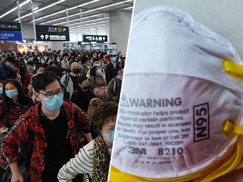 Maske v boju proti koronavirusu