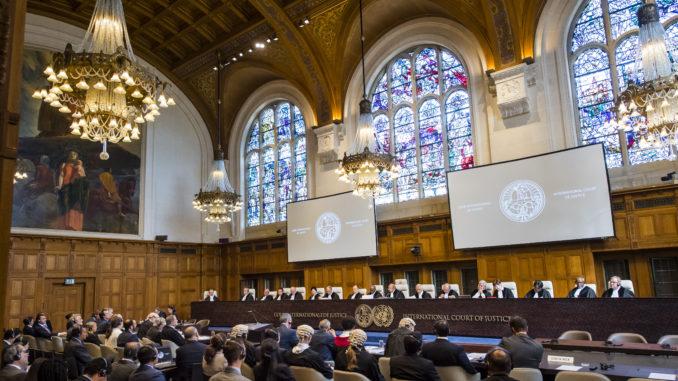 Meddržavno sodišče v Haagu Vir: Amprensa