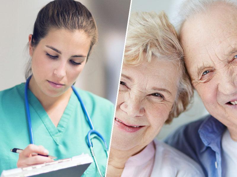 Medicinska sestra in upokojenci