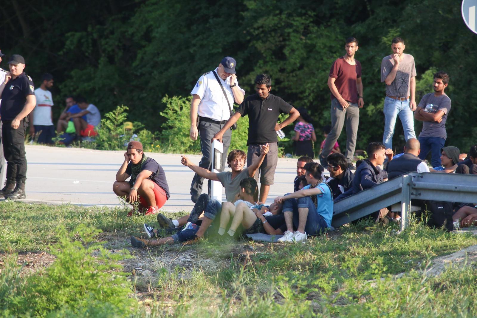 Migranti - Velika Kladuša Vir:Pixell