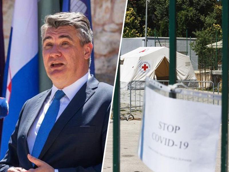 Milanović in zasilni objekti za testiranje na Hrvaškem