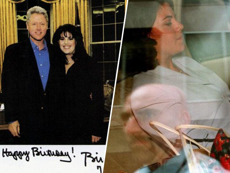 Bill Clinton in Monica Lewinsky