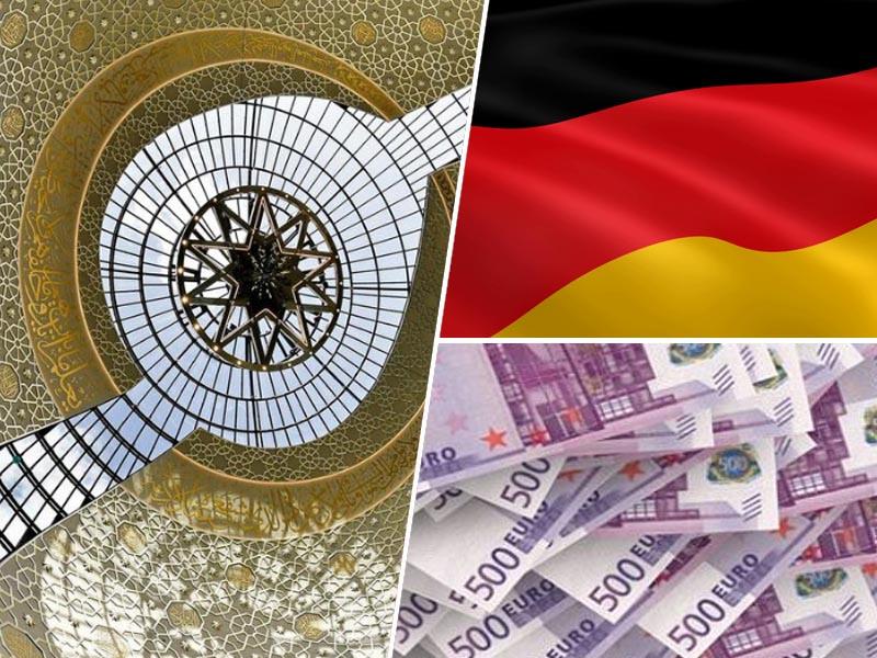 Mošeja, Nemčija, denar