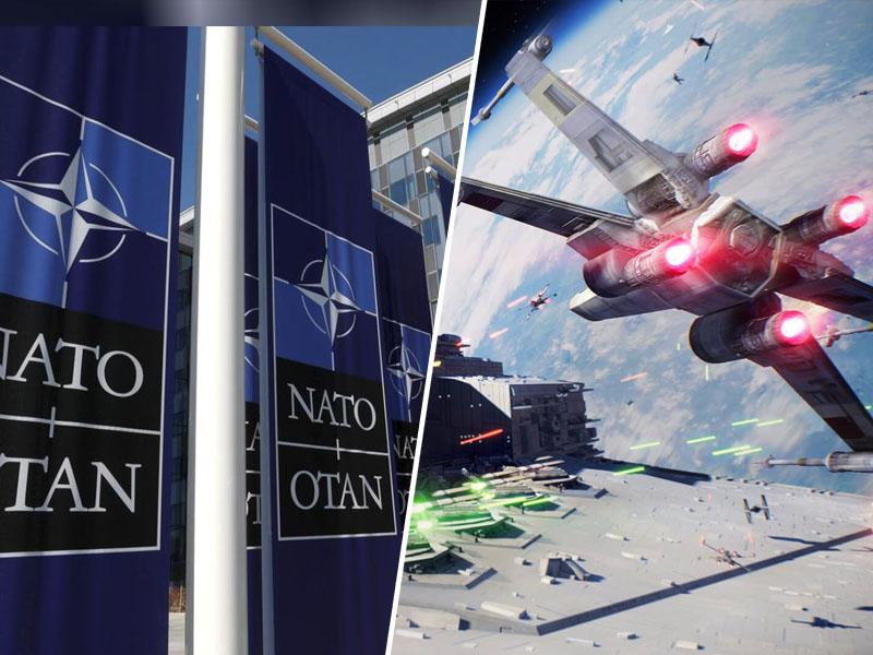 Zveza Nato in vesolje