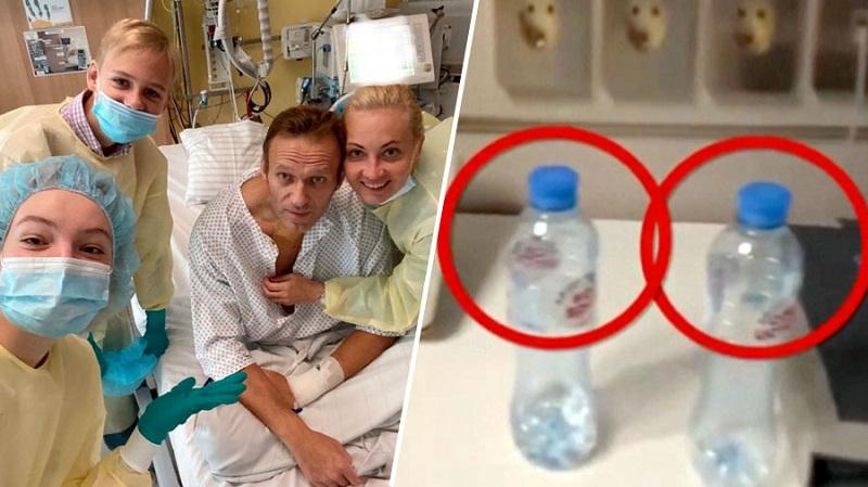 Navalni in steklenice