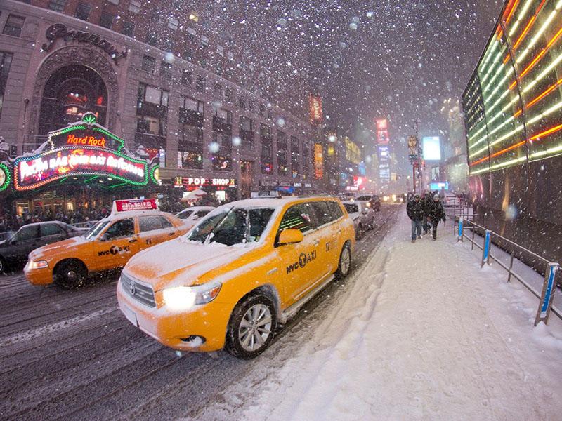 New York / Sneg