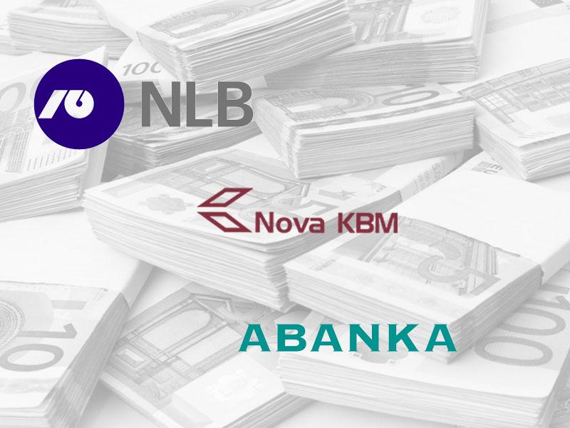 NLB, NKBM, Abanka