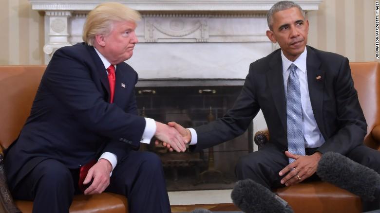 Obama in Trump
