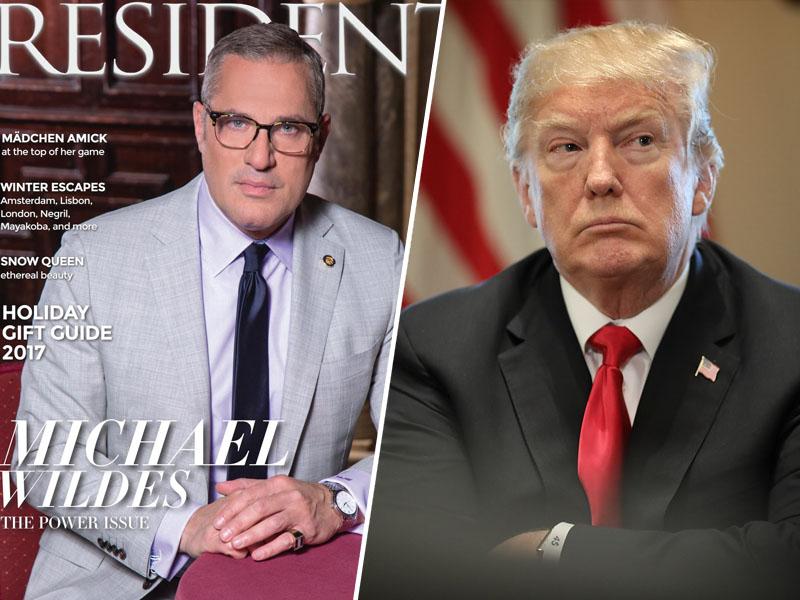 Odvetnik Melanie Trump in Donald Trump